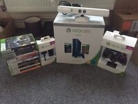 Xbox 360 - 500GB SPECIAL BLUE EDITION WITH 14 GAMES AND ACCESSORIES!!!