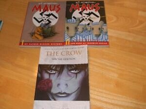 Comics Maus I&II TPB Boxed set the Crow Special edition TPB