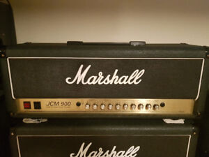 Marshall JCM900 50w head with EL34 power tubes For Sale