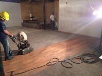 Hardwood floor refinishing & sanding