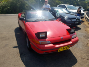 Ford Capri Turbo 1990 Manual. Amazing condition. Low Kms.