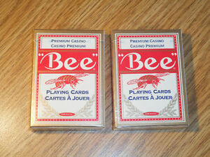 "Poker Playing Cards - ""Bee"""