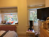 Large Double Room available in 3 bed flat share in Raynes Park