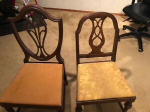 Antique chairs for sale, sold together or separate