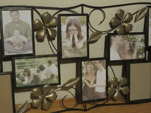 Beautiful Metal Picture Frame for 10 photos West Island Greater Montréal image 3