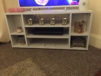 White Corner TV Unit - New