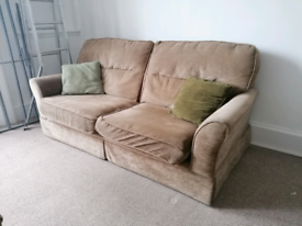 G-plan vintage 3 seater sofa and armchair