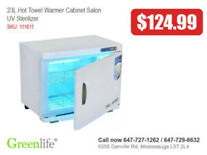 Towel Warmer Heater with UV sterilizer For Salon Spa Massage