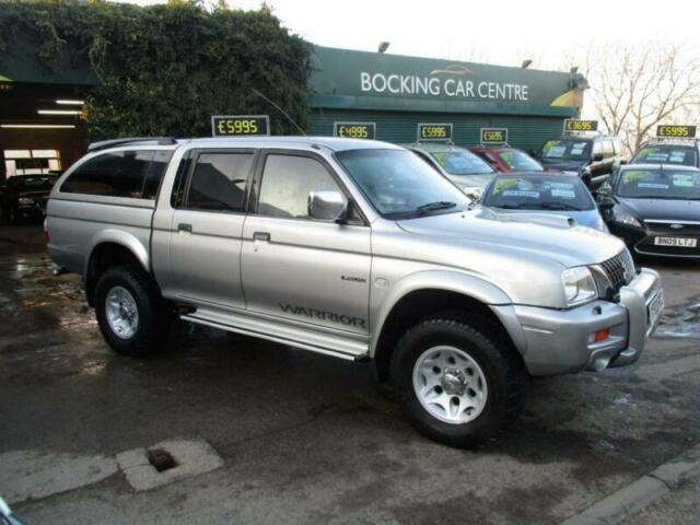 Mitsubishi L200 2 5 TD Ltd Warrior 2003 DOUBLE CAB WITH REAR COVER 4X4 NO  VAT | in Keighley, West Yorkshire | Gumtree