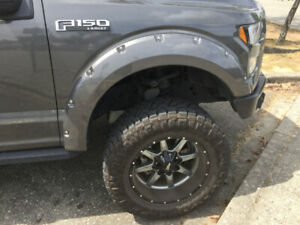 BRAND NEW POCKET STYLE FENDER FLARE FOR FORD F-150/250/350