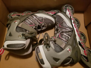 Ladies roller blades size 8 (new condition)