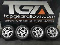 """15"""" Original FIESTA ZETEC Alloy Wheels & Tyres"""
