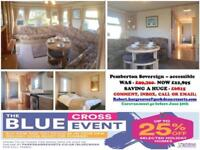 Accessible Static Caravan For Sale In Norfolk - Great Yarmouth - BLUE CROSS SALE