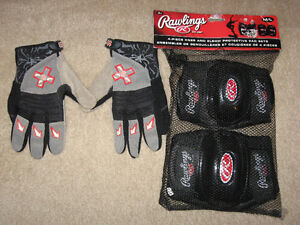 ***  XGAMES GLOVES, AND KNEE,ELBOW PROTECTION ***