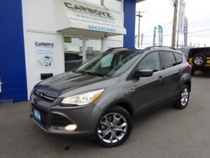 2014 Ford Escape SE 4WD, Nav, Leather, Sunroof, 2.0L Eco Boost!!