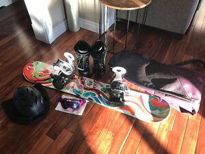 Ultimate Women's Snowboard Lot