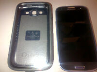 Beautiful Blue Samsung S3 SGH-i747M Phone - Unlocked