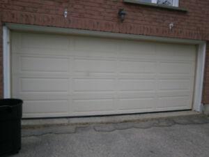 """Garage Door 16' x 6'6"""" x 18"""""""