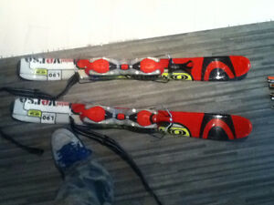 Mini ski acrobatique 2 côtés