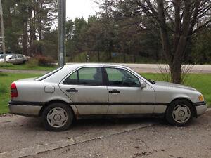 1997 Mercedes Benz C230   $999