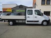 Vauxhall Movano 2.3CDTI L3H1 LWB dropside Double Cab/ Crew cab 7 SEATS (1)