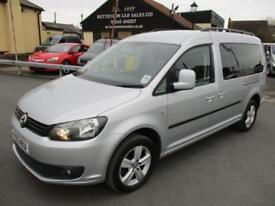 2012 VW Caddy Maxi C20 LIFE TDI Diesel MPV WAV * Only 30,000 Miles *