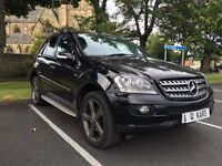 2008 (08) ML320CDI Edition 10 7GTronic / 107K with FSH / Full Leather / SAT NAV / Bluetooth