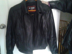 LADIES LEATHER MOTORCYCLE RIDING  JACKET