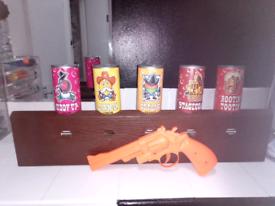 Shooting game infrared