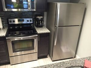 Whirlpool Gold Series Fridge and Electric Smooth Top Range Combo