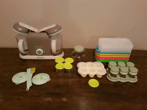 Beaba baby food maker and storage containers