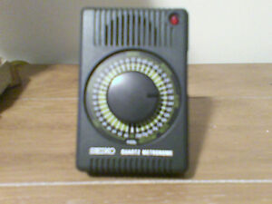 Seiko Quartz Metronome - New