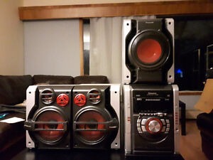 Panasonic Stereo with Subwoofer