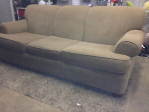 Brown 3 Seater Couch- DELIVERY