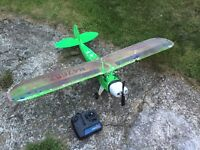 Rc plane ready to fly