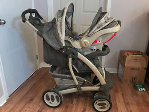 3 in 1 stroller and car seat