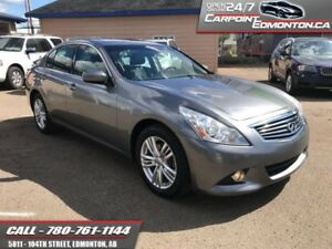 2012 INFINITI G37 Sedan G37X ..AWD...LOADED