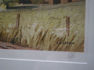 "Initialed A. J. Casson-""Sun After Thunder"" Artists Proof Kitchener / Waterloo Kitchener Area image 5"