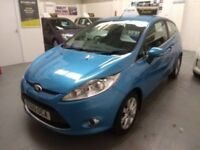 IMMACULATE 2010 Ford Fiesta 1.2 Zetec, FSH, only 66k, new MOT and Gold Warranty!