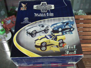 Die Cast Shelby 1:18,  3 in 1 Collection