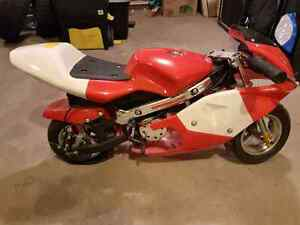 Electric 500w pocket bike for sale