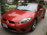 GREAT STUDENT CAR *2007 Mitsubishi Eclipse GS Coupe (2 door)*