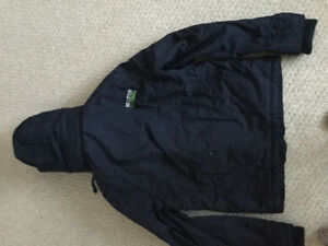 Hollister XL Navy winter jacket New With tags