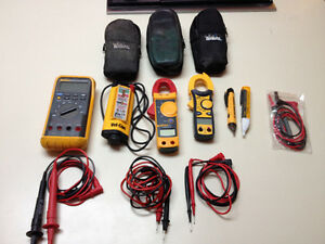 Electrical meters, pen testers and leads