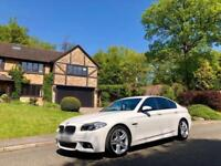 2016 65 BMW 520D M SPORT AUTO WHITE 4DR DIESEL SALOON *** FULLY LOADED ***