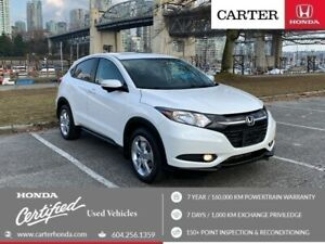2016 Honda HR-V EX + SPRING CLEARANCE + CERTIFIED + NO ACCIDENTS