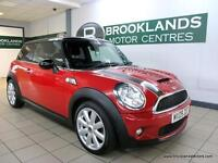MINI Cooper S 1.6 COOPER S [6X SERVICES, LEATHER, TLC PACK and CHILLI PACK]