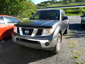 2007 Nissan frontier 4x4 ext cab