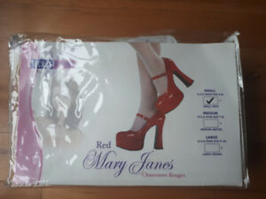 Secret Wishes Red Mary Janes- two sizes available
