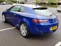 Alfa Romeo Brera 3.2 JTS V6 Q4 SV Petrol Blue 3dr Sat Nav Top Specs FSH Warranty